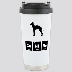 Italian Greyhound Stainless Steel Travel Mug