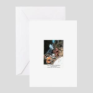 Abenaki Warrior Greeting Card