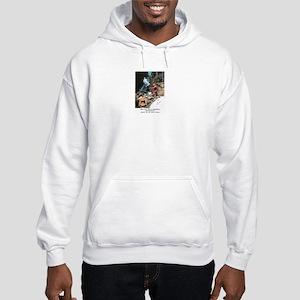 Abenaki Warrior Hooded Sweatshirt