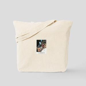 Abenaki Warrior Tote Bag