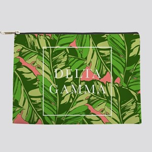 Delta Gamma Banana Leaves Makeup Pouch