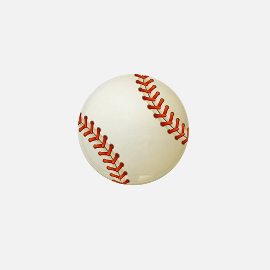 Baseball Ball Mini Button