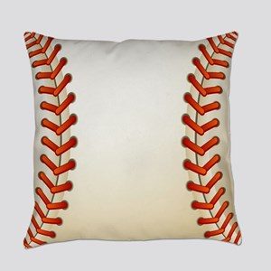Baseball Ball Everyday Pillow