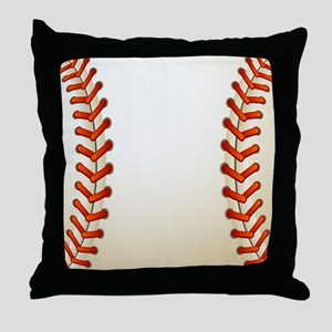 Baseball Ball Throw Pillow