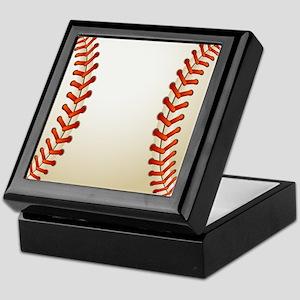 Baseball Ball Keepsake Box