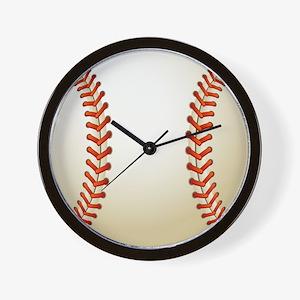 Baseball Ball Wall Clock