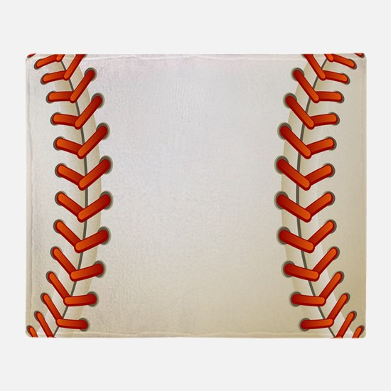 Baseball Ball Throw Blanket