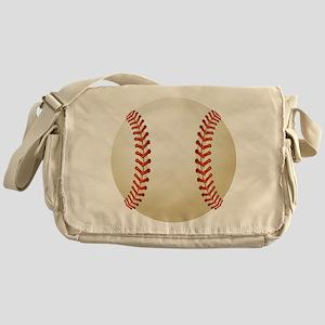 Baseball Ball Messenger Bag