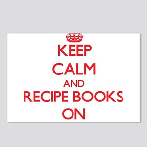Keep Calm and Recipe Book Postcards (Package of 8)