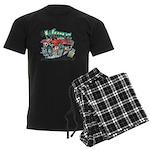 Whale Car-Toon Pajamas