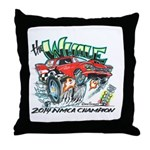 Whale Car-Toon Throw Pillow