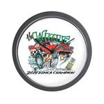 Whale Car-Toon Wall Clock