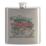 Whale Car-Toon Flask