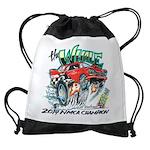 Whale Car-Toon Drawstring Bag