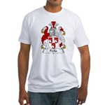 Perks Family Crest Fitted T-Shirt