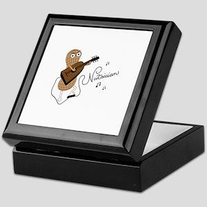 Nutsician musician Keepsake Box