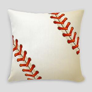 Baseball Ball Everyday Pillow