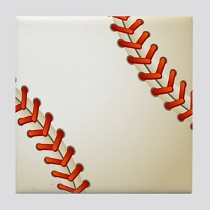 Baseball Ball Tile Coaster