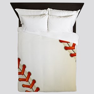 Baseball Ball Queen Duvet