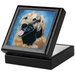 golden retreiver Keepsake Box
