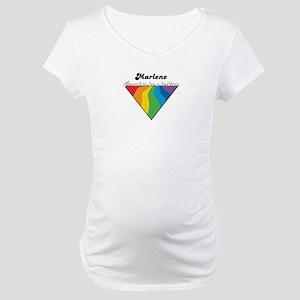 Marlene: Proud Lesbian Maternity T-Shirt