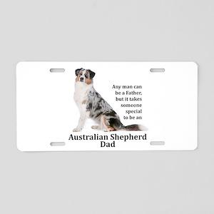 Aussie Dad Aluminum License Plate