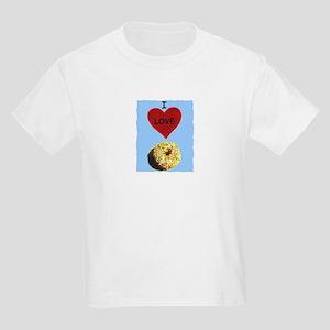 I LOVE DONUTS Kids Light T-Shirt