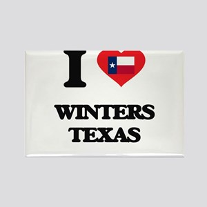 I love Winters Texas Magnets