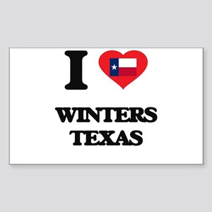 I love Winters Texas Sticker