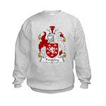 Pengeley Family Crest Kids Sweatshirt