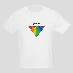 Janae: Proud Lesbian Kids Light T-Shirt