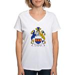 Pendleton Family Crest Women's V-Neck T-Shirt