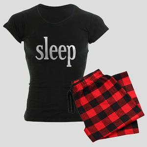 I Want Sleep Women's Dark Pajamas