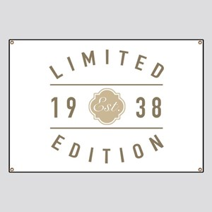 1938 Limited Edition Banner