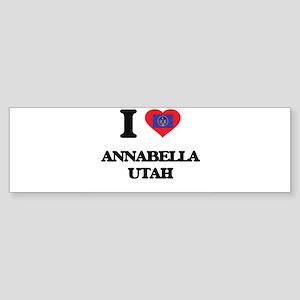I love Annabella Utah Bumper Sticker