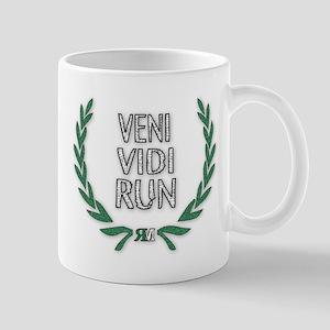 """""""Veni Vidi Run"""" Mugs"""