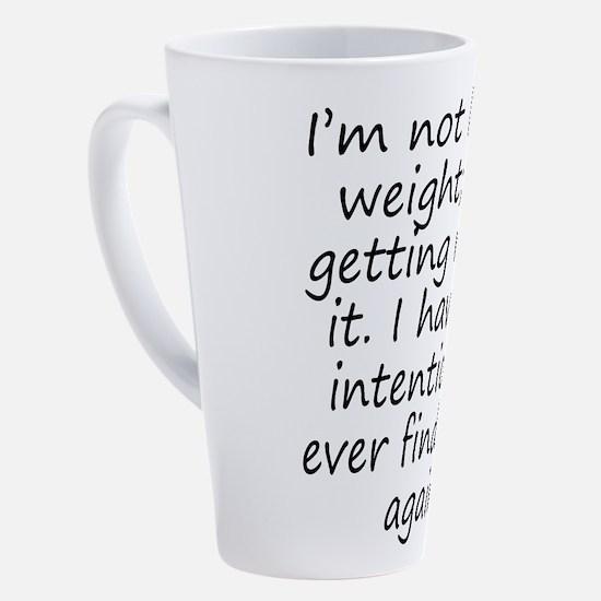 Funny Lose 17 oz Latte Mug