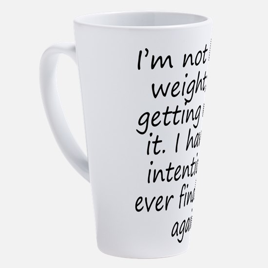 Cute Weight Loss 17 Oz Latte Mug