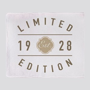 1928 Limited Edition Throw Blanket
