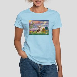 Cloud Angel/Chinese Crested Women's Light T-Shirt