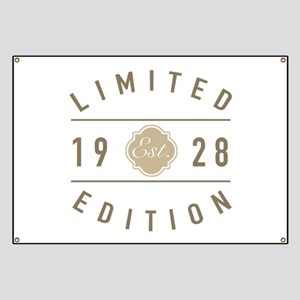 1928 Limited Edition Banner
