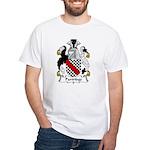Partridge Family Crest White T-Shirt