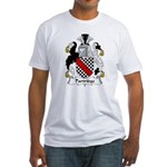Partridge Family Crest  Fitted T-Shirt