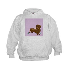 The Artsy Dog Dachshund Serie Hoodie