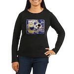 Cow Women's Long Sleeve Dark T-Shirt