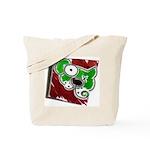 Dog Pin Tote Bag