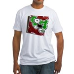 Dog Pin Fitted T-Shirt