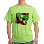 Dog Pin Green T-Shirt