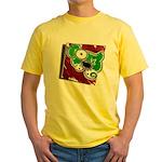Dog Pin Yellow T-Shirt