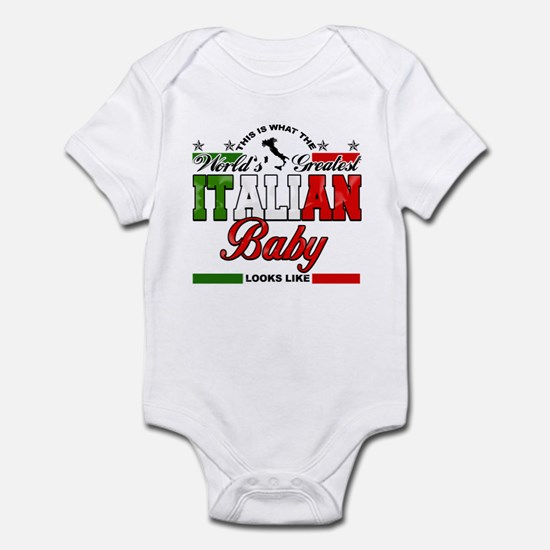 World's Greatest Italian Baby Infant Bodysuit